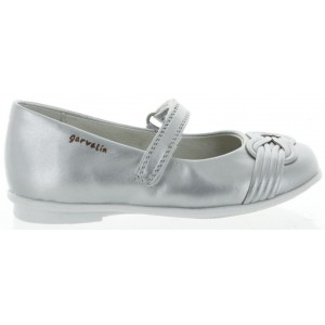 Shoes for child in silver leather