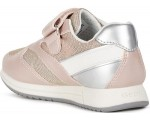Sneakers with arches in rose leather