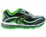 Sneakers for boys by Geox in green