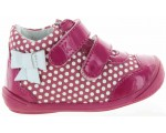 Infant walking shoes with support high top