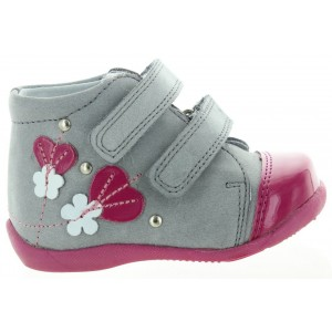 Profiled child shoes with arch support