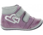 Corrective high top boots for girls with high arches