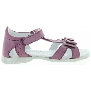 Sandals with high closed back for girls