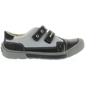 Boys leather shoes with high arch extra wide