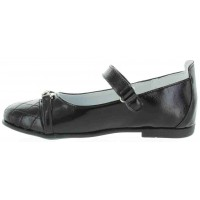 Edka Black - High Arch Shoes for School