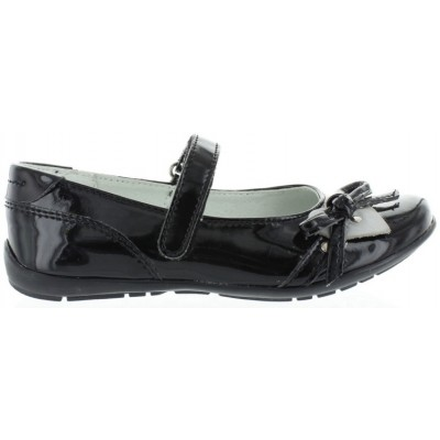 School leather shoes for girls