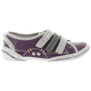 Support girls purple sneakers for optimal comfort