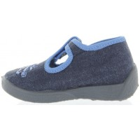 Jamajka Gray - Slippers with Arches for Baby Boy Learning to Walk