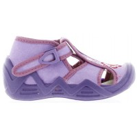 Smerfetka Lavender - Ankles Turning House Shoes for Kids