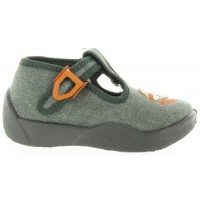 Dionizy Olive - House Shoes for Baby to Learn How to Walk