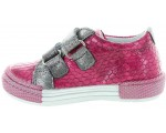 Toddlers with wide toe box pink sneakers