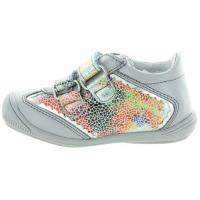 Alka Gray - Toddler Sneakers for Toeying In Girls