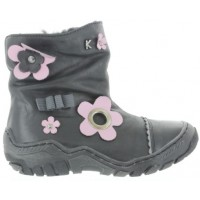 Chmura Black - Pronation High Top Boots for Girls