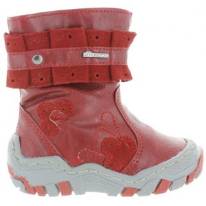 Infant boots with good arches
