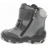 Czajka Black - Snow Boots for Toddler with Ankle Support