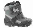 Toddler with ankle support snow boots