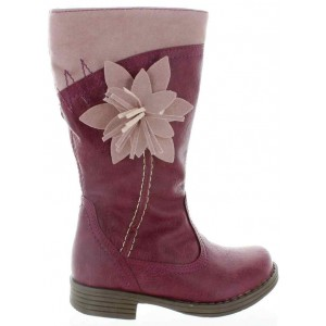Pink snow boots for girls