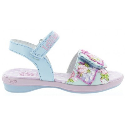 Blue girls sandals from Europe