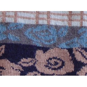 Tights for kids with blue flowers soft quality