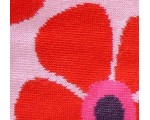 Pink and red flower decorative girls tights from Europe