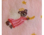 Baby tights in pink color with bears