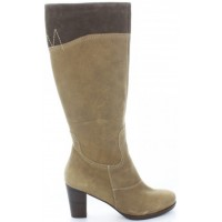 Barista Beige - Tall Womens Snow Boots from Europe