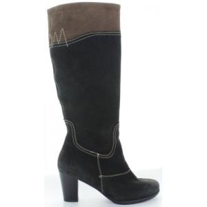 Low heel durable womens boots