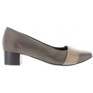 Womens European shoes with low heel