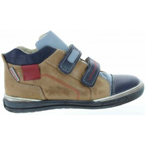 Leather ankle high tops for boys with support