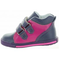 Kandia Navy - Baby Soft Walkers with Heel Support