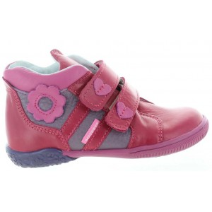 Leather ankle corrective girls boots