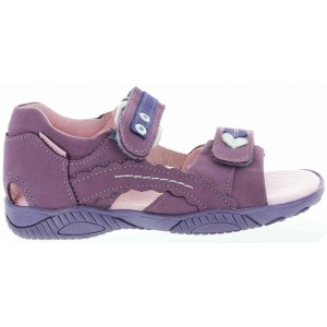 Orthopedic sandals with heel support for teens