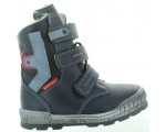 Snow boots for child tall blue