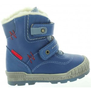 Waterproof and top quality blue snow boots for kids