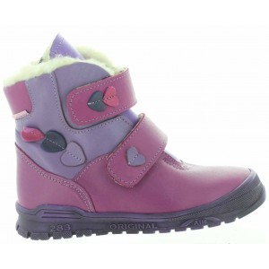 Snow boots for a child waterproof and warm