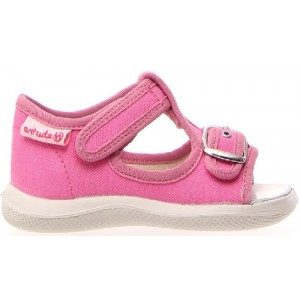 Shoes for a Baby in pink canvas
