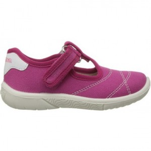 Girl canvas in pink color with good arch