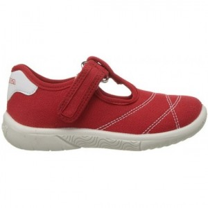 Red shoes for a child in Australia with best support
