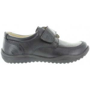 School shoes with best support in black leather