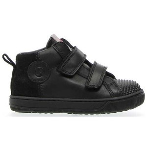 Leather high top boots from Europe in black leather