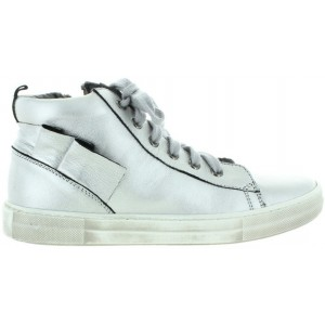 Teen girl high top silver fashion orthopedic boots