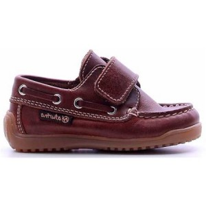 Loafers for a child with good arch brown dress