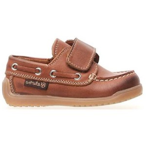 Brown loafers for a boy high arch