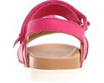 Sandals for a girl dressy in pink