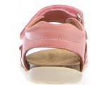 Sandals for a child with easy closure in pink sporty style