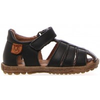 Jojo Black - Summer Sandals for Boys with Closed Toes