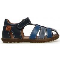Jojo Blue - Closed Toe Blue Sandals for Active Boy