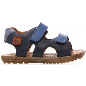 Dressy sandals for boys in blue