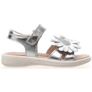 Naturino silver sandals for girls