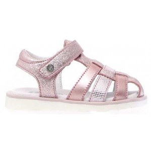 Girls sandals with arch closed toe